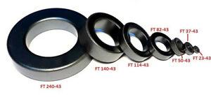Ringkern FT 50-43 für Baluns UnUn´s Mantelwellensperren weitere im Shop ( L13C )