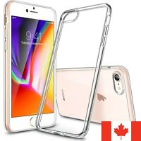 For iPhone 7 / iPhone 8 & SE 2020 Case - Clear Thin Soft TPU Silicone Back Cover