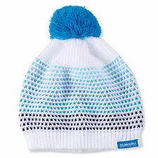 Genuine Subaru Ladies' Pom Pom Beanie Hat Impreza STI WRX Ski Snow Rally Logo