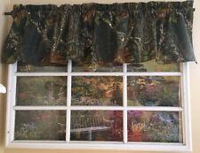 Mossy oak break up camouflage valance