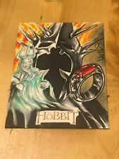 Hobbit Unexpected Journey Achilleas Kokkinakis Sketch Card