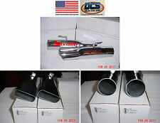 "1967 1976 Dart Duster Demon Exhaust Tips 3"" NEW MoPar"