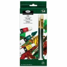 Royal and Langnickel Oil Colour Paint Art Set Of 12 + 2 Brushes