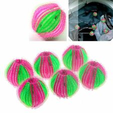 Useful 6PCS Hair Grabbing Laundry Washing Machine Clothes Softener Laundry Balls