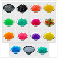 500 WATER BEADS CRYSTAL BIO SOIL GEL BALL WEDDING PLANTS VASE FILLER PARTY DECOR