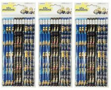 Minion Blue Black Pencils School stationary Supplies 36pc