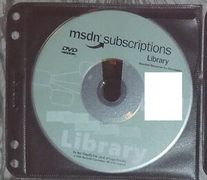 2006 January DVD - Microsoft MSDN Subscriptions Library Genuine disc + sleeve