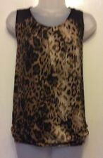 next animal print top size 16