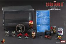 HOT TOYS 1/6 MARVEL IRON MAN 3 ACS002 TONY STARK WORKSHOP ACCESSORIES SET