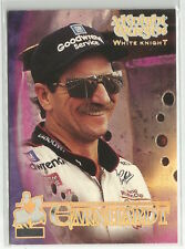 1996 Wheels Knight Quest NASCAR Dale Earnhardt Sr. White Knight #1 #318/499