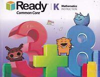 Ready Common Core Grade K Mathematics Instruction NO WRITING (E1-71)