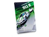 Original Porsche Blechkalender Blechschild 911 R Ewiger Kalender WAX05000003