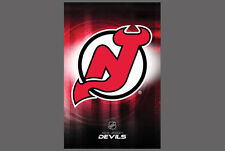 a49579742 Rare NEW JERSEY DEVILS Team Logo Official NHL Hockey Wall POSTER