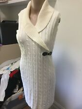 SZ 10 S CALVIN KLEIN KNIT DRESS   *BUY FIVE OR MORE ITEMS GET FREE POST