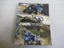 Yamaha 2005 Motorcycle/Atv/SxS Technical Update Manual Lit-17500-00-05