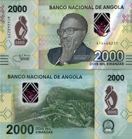 Angola 2000 Kwanzas 2020 P163 UNC
