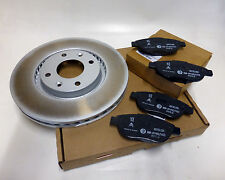 Brake Discs and Pads - Peugeot 207, Genuine, Front