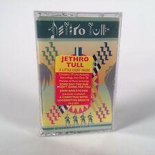 """*SEALED CASSETTE TAPE* JETHRO TULL """"A Little Light Music"""" 1992 Chrysalis"""