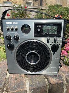 National Panasonic RF1150 GX600 MW FM LW SW Band Radio Made In Japan