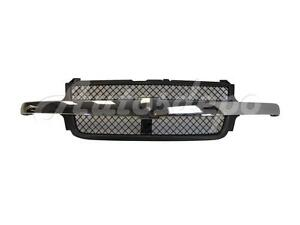 For 99-02 CHEVY SILVERADO 2500HD/3500 GRILLE MATERIAL GRAY WITH CHROME MOLDING