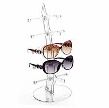 Eyeglasses Sunglasses Storage Display Stand Holder Organizer Case Show Rack