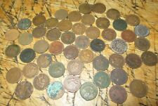 Lot of 50- Cull Indian Head Cents /Pennies (1800s-1900s) Old US Coins  1a