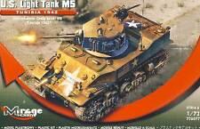 Mirage - U.S. Light Tank M5 TUNISIA 1942 TUNESIEN 1:72 Modell-Bausatz NEU Panzer