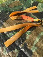 "CATAPULT ELASTIC ""HUNTING BANDS"" DOUBLE THERABAND GOLD."