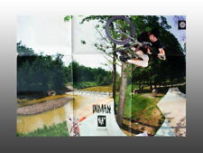 """Collectable Bmx Fit Bicycle Poster, Justin Inman 20"""" x 30"""" printed both sides"""