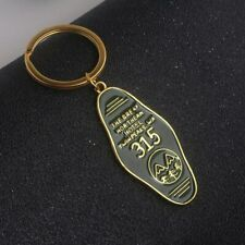 Twin Peaks The Great Northern Hotel Room 315 Keychain Gold Letter Logo Key