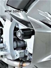 Yamaha FJR1300 2013 R&G BLACK  FRONT CRASH BOBBINS - PAIR