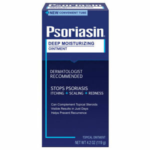 Psoriasin Deep Moisturizing Psoriasis Ointment Itching Scaling Redness 4.2 oz