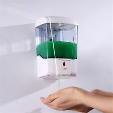 700ML Touchless Sensor Automatic Wall Mount Soap Dispenser Sanitizer Liquid