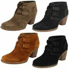 Clarks Suede Lace Up Shoes for Women