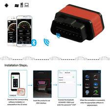 New Smart Car SUV OBD2 ELM327 Bluetooth Diagnostic Scanner Tool Sleep Switch Kit