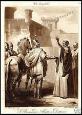 STAMPA ORIGINALE 1800 S. BERNARDO ABATE DOTTORE