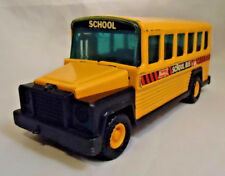 "VINTAGE 1980 BUDDY L PRESSED STEEL SCHOOL BUS 6 1/2""LONG"
