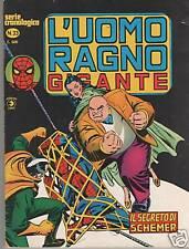 L' UOMO RAGNO GIGANTE  # 33  IL SEGRETO DI SCHEMER  editoriale Corno 1979