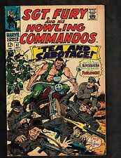 Sgt Fury and his Howling Commandos #47 ~ Tea & Sabotage ~ 1967 (6.0) Wh