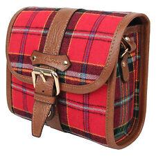 Checky mini Red camera bag - dslr instax mini 8 vintage canvas cute RF case digi