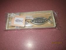 Jesus Fish Ichthys Key Chain  FAVOR VACATION BIBLE SCHOOL CHRISTIAN