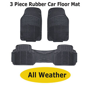 Durable Rubber H Duty Car Interior Floor Mats For Kia Sorento Soul Sportage