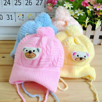 Cotton Beanie Knitted Hat For PROborn Kid Child Baby Boy Girl Toddler Cap