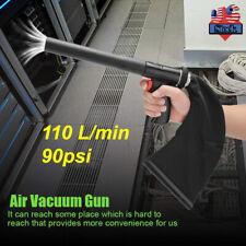 Cleaning Air Vacuum Blow Gun Pneumatic Vacuum Cleaner Tool Kits 90psi 110 L/min