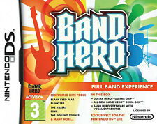"NINTENDO DS LITE *BAND HERO* BUNDLE INCLUDING BOTH GRIPS ""BRAND NEW"" RRP £19.99"