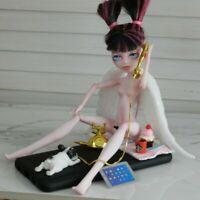 """ HEAVENLY TEENAGER"" Sculpture by DBC Monster High BJD Doll Mattel Barbie w base"