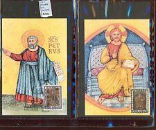 STAMPS 2 CARD MAXIMUN VATICAN CITY POPE (L7291)