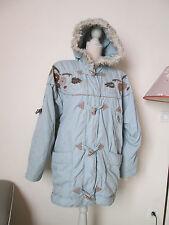 - manteau  parka chaud capuche à fourrure RENÉ DERHY  Vintage TBEG Taille L