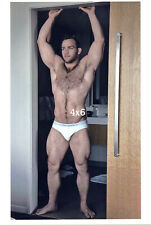 Hairy Chest Male N Tighty Whities Underwear Muscular Legs Gay Interest 4x6 Photo