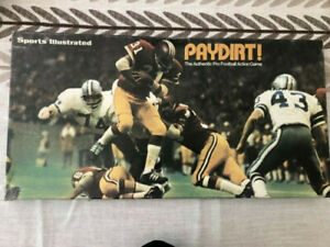 Sports Illustrated Football Board Game 1972 Complete w/ all teams, charts, dice